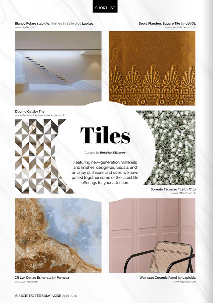 Architecture Magazine - April 2020