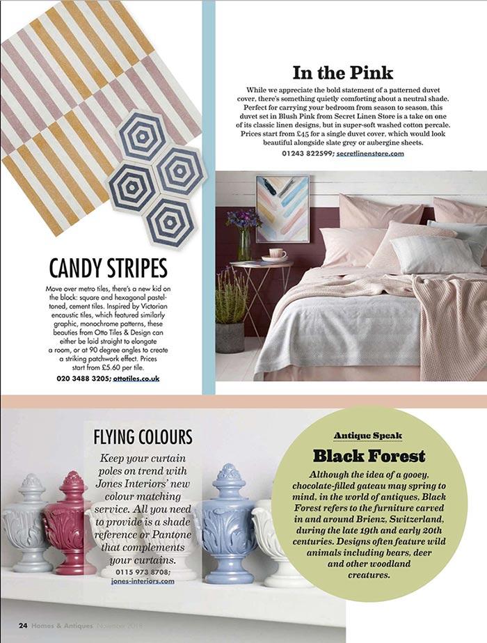 Homes & Antique Magazine - November 2018