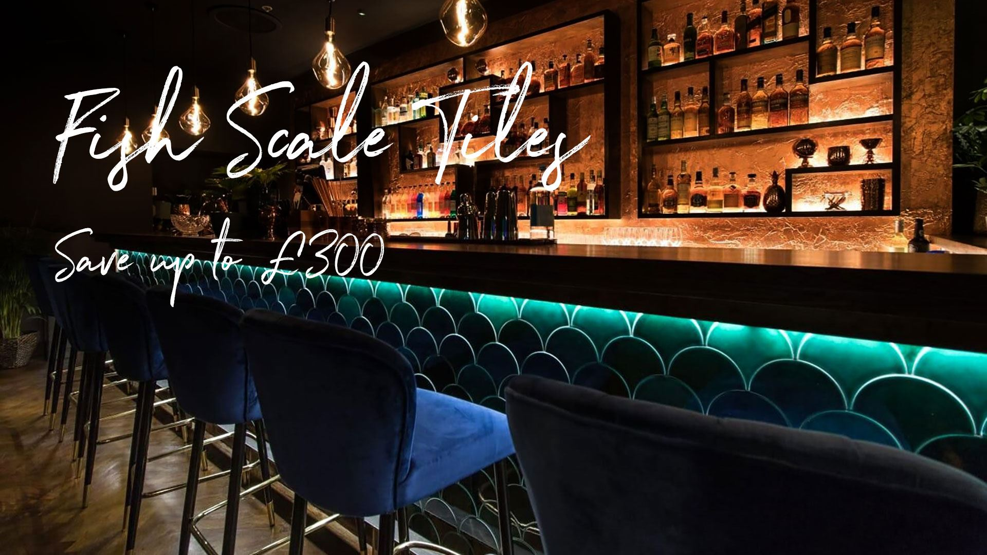 Fish Scale Tile Offer - Save up to £300