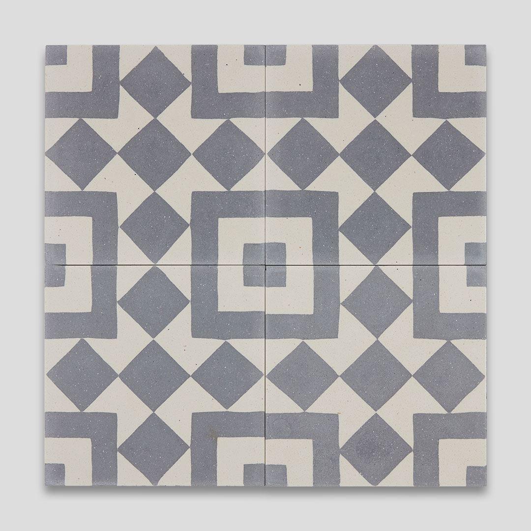 Priam Handmade Encaustic Cement Floor Tile   Otto Tiles & Design   Encaustic, Moroccan and ...