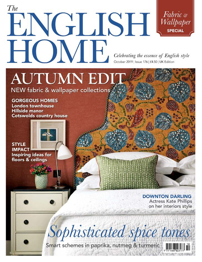 The English Home – October 2019