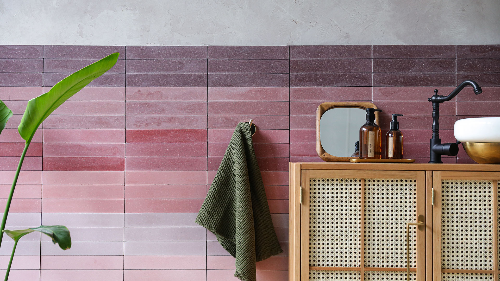 Herringbone Tiles by Otto Tiles and Design