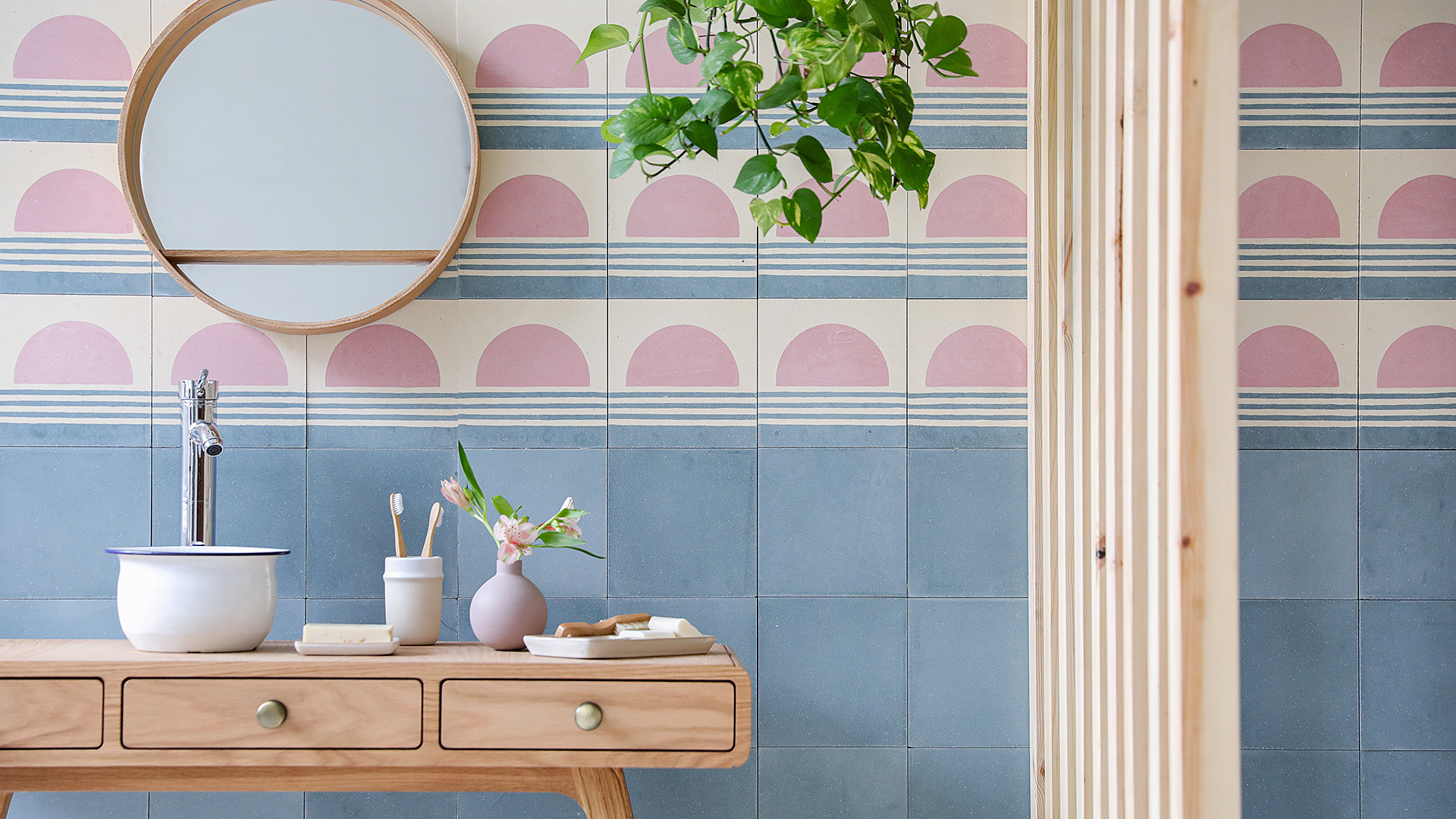 Summer Inspiration Encaustic Tiles