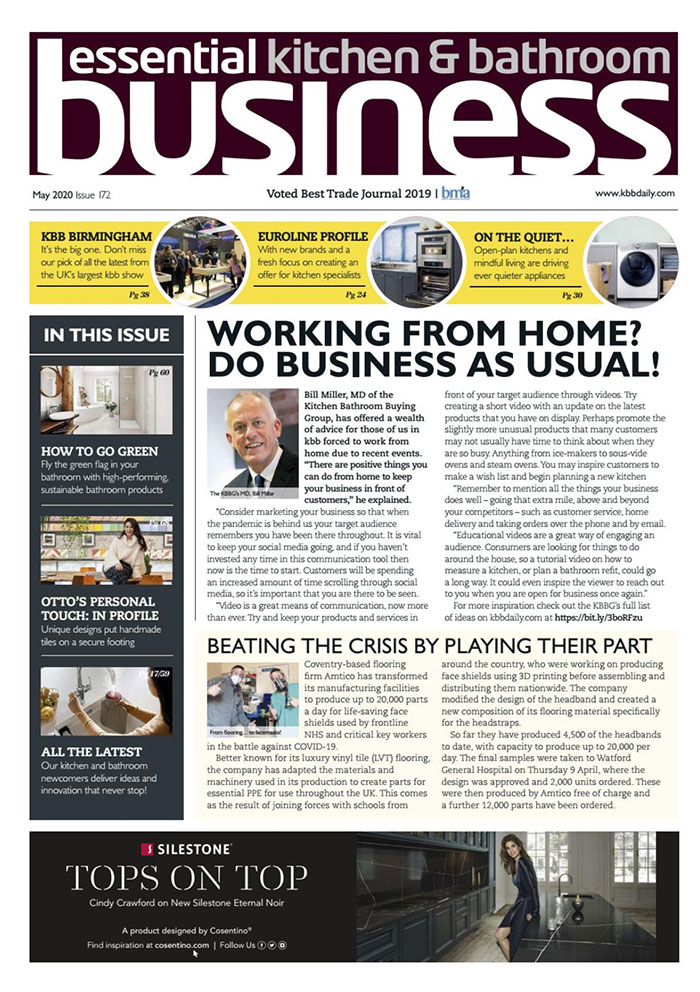 Essential Kitchen & Bathroom Business - May 2020