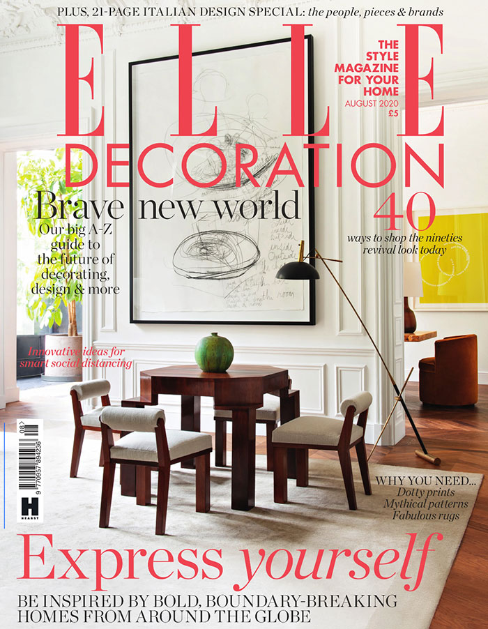 Elle Decoration - August 2020