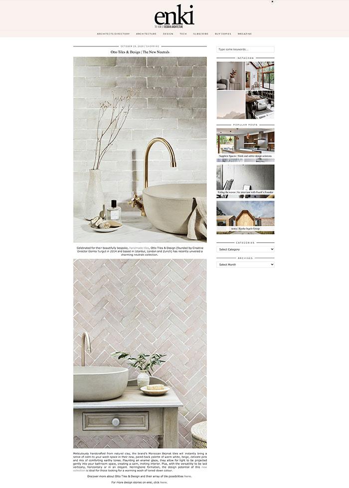 Enki Design & Architecture - 29.10.2020