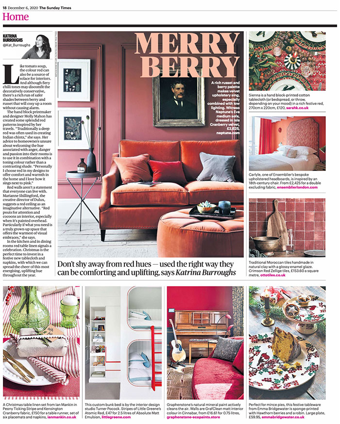 Sunday Times Home – 06.12.2020