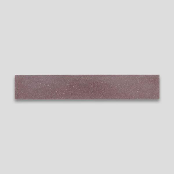 Aubergine Herringbone Encaustic Cement Tile