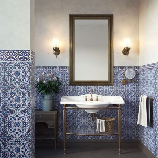 BT40 Handmade Turkish Ceramic Tile