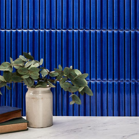 Bamboo Blue Ceramic Tile