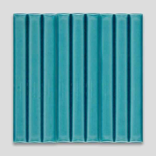Bamboo Turquoise Ceramic Tile