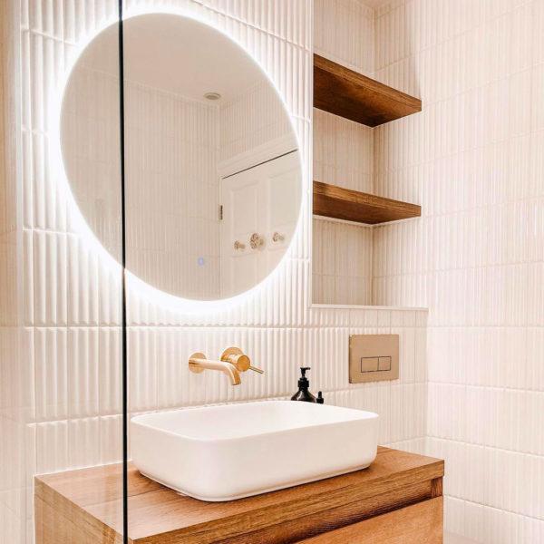 Bamboo White Ceramic Tile