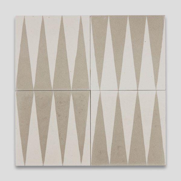 Beige Gammon Encaustic Cement Tile