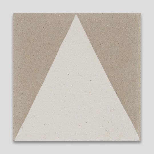 Beige Pyramid Encaustic Cement Tile