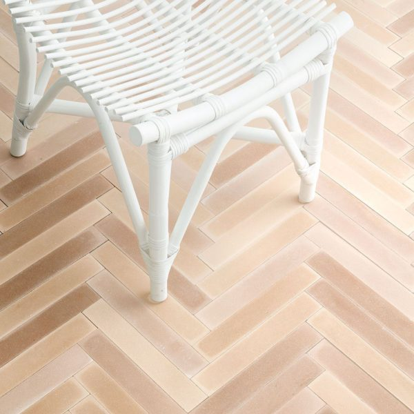 Birch Herringbone Encaustic Cement Tile