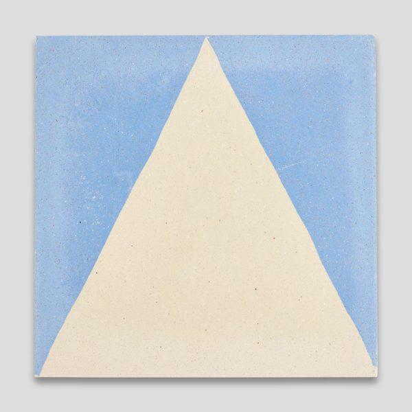 Blue Pyramid Encaustic Cement Tile
