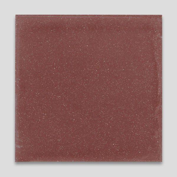 Burgundy Encaustic Cement Tile