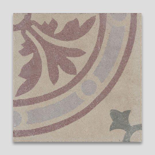 Celestial Flower Encaustic Cement Tile