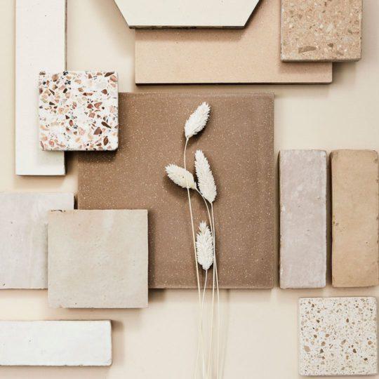 Curry Encaustic Cement Tile