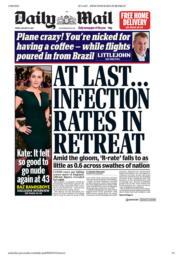 Daily Mail - 15.01.2021