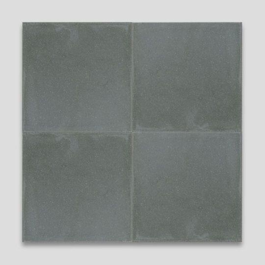 Dark Green Encaustic Cement Tile