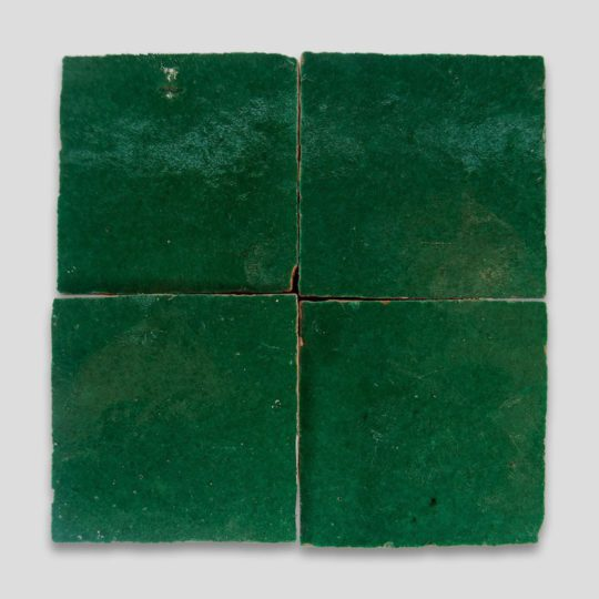 Dark Green Zellige Tile
