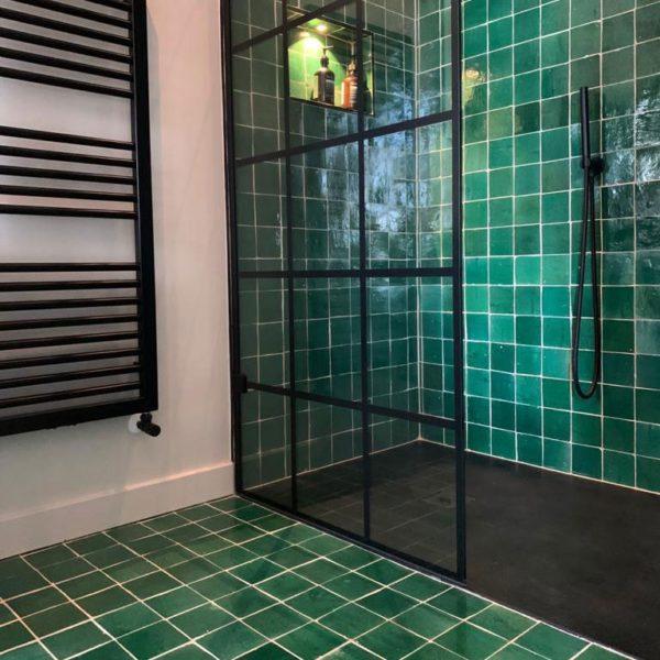 Dark Green Zellige Tile
