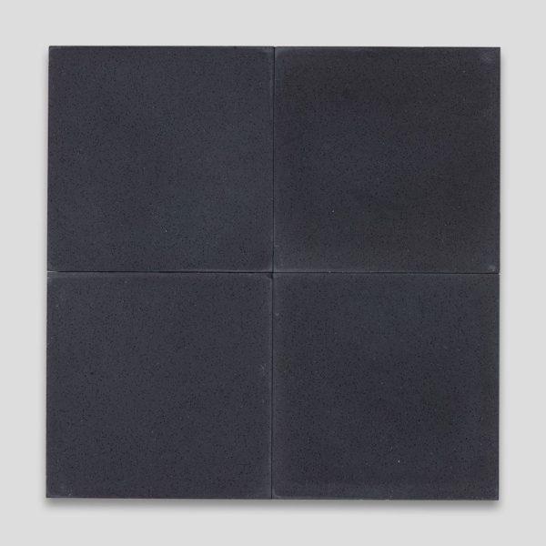 Deep Black Encaustic Cement Tile