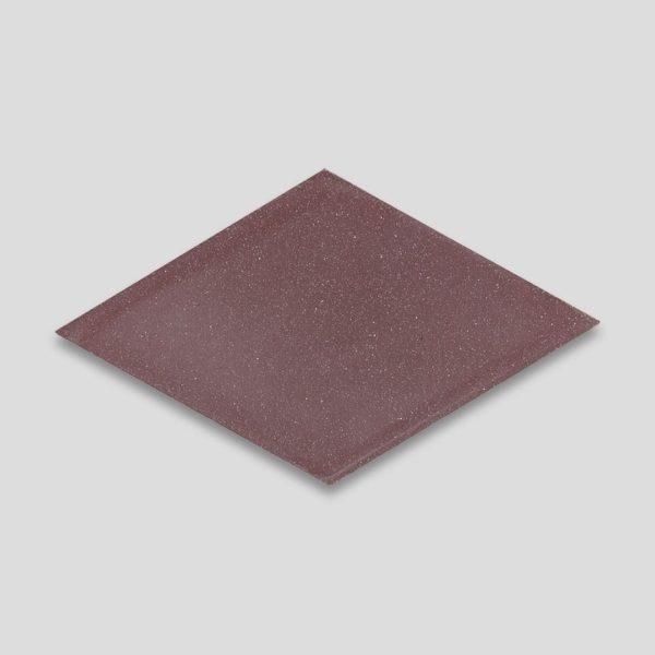 Diamond Aubergine Encaustic Cement Tile