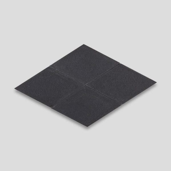 Dimond Deep Black Encaustic Cement Tile
