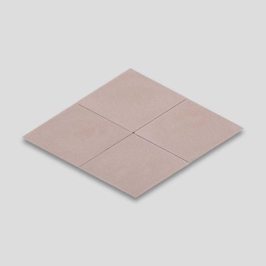 Diamond Dirty Pink Encaustic Cement Tile