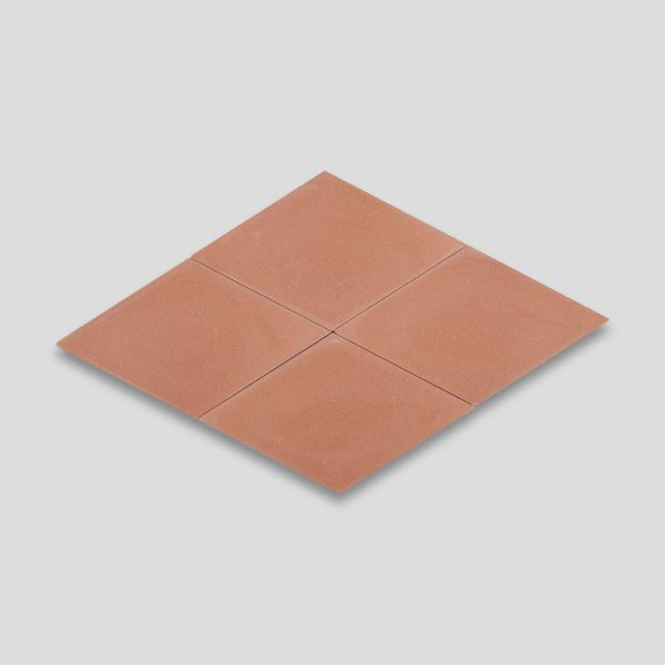 Diamond Peach Encaustic Cement Tile