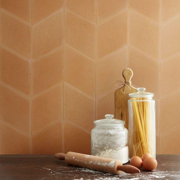 Diamond Yellow Encaustic Cement Tile