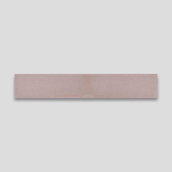 Dirty Pink Herringbone Encaustic Cement Tile
