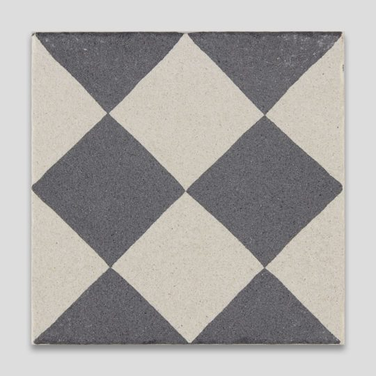 Double Diamond Encaustic Cement Tile