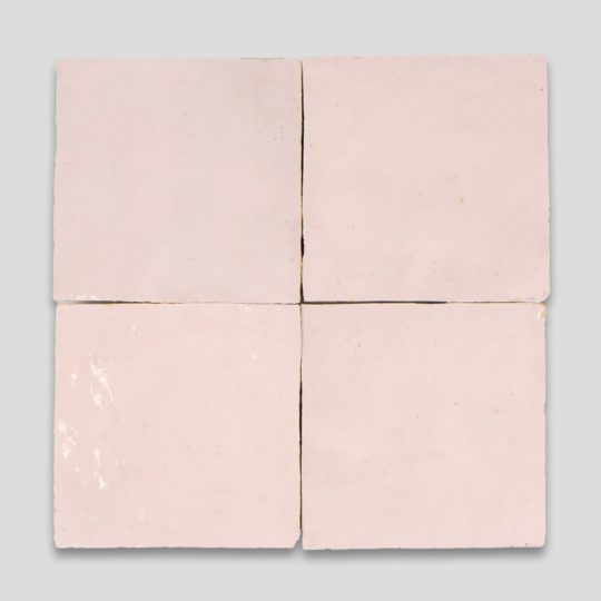 Dusty Pink Z03-5 Zellige Tile