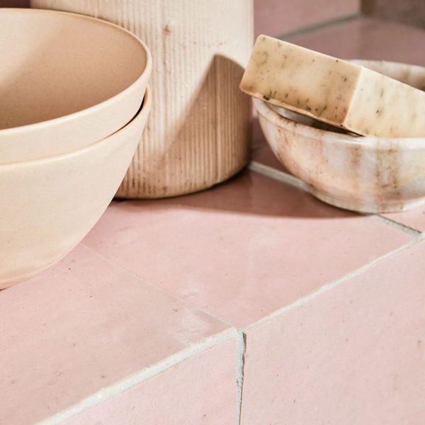 Dusty Pink Z03-5 Zellige Tile