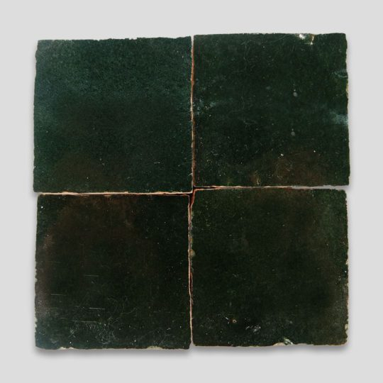 Forest Green Z-39 Zellige Tile