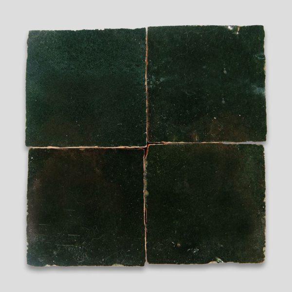 Forest Green Z-39 Zellige Tile