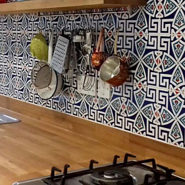 GC58 Handmade Turkish Ceramic Tile