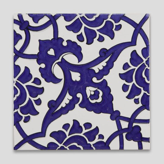 GC83 Cobalt Handmade Turkish Ceramic Tile