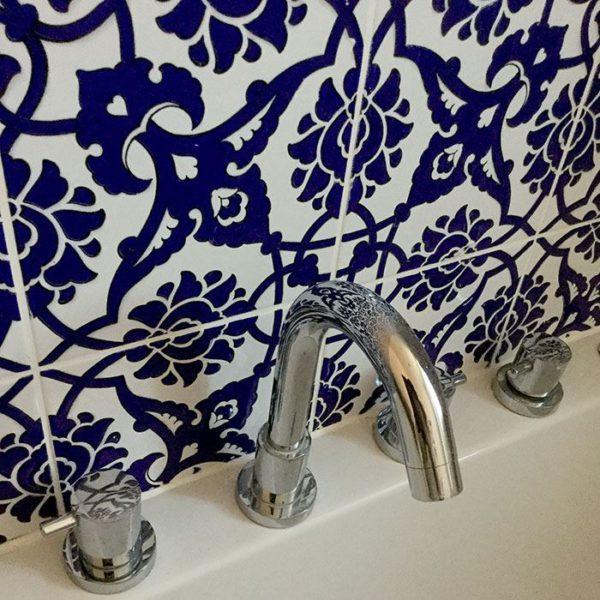 GC83 Cobalt Handmade Turkish Ceramic Tile