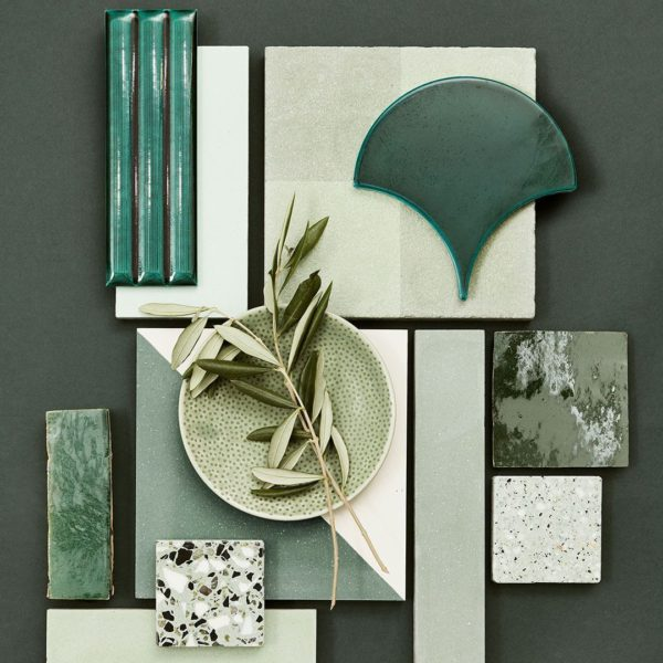 Going Green Encaustic Cement Tile
