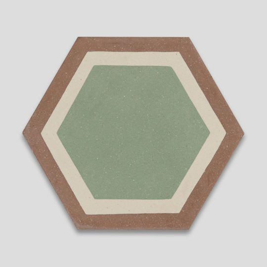 Granada Hexagon Encaustic Cement Tile