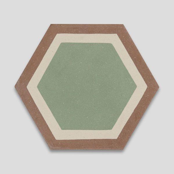Granada Hexagon Encaustic Cement Tile