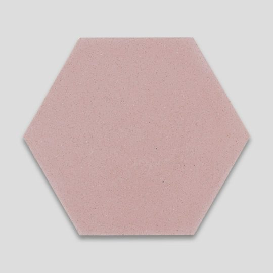 Hex Plain Candy Hexagon Encaustic Cement Tile