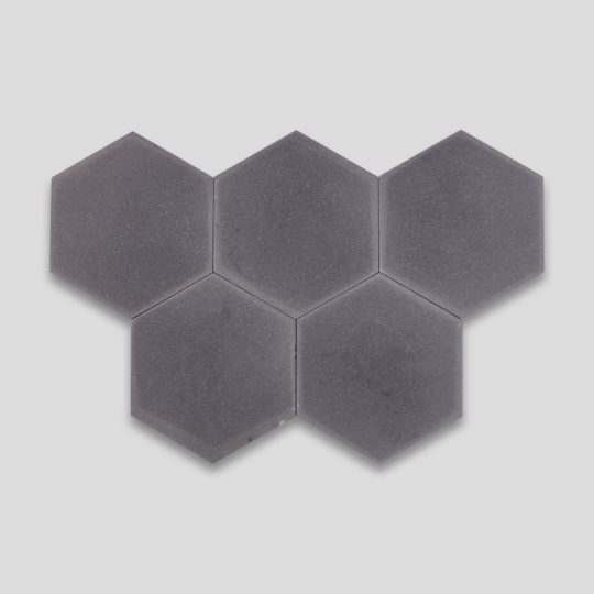 Hex Plain Shark Gray Hexagon Encaustic Cement Tile