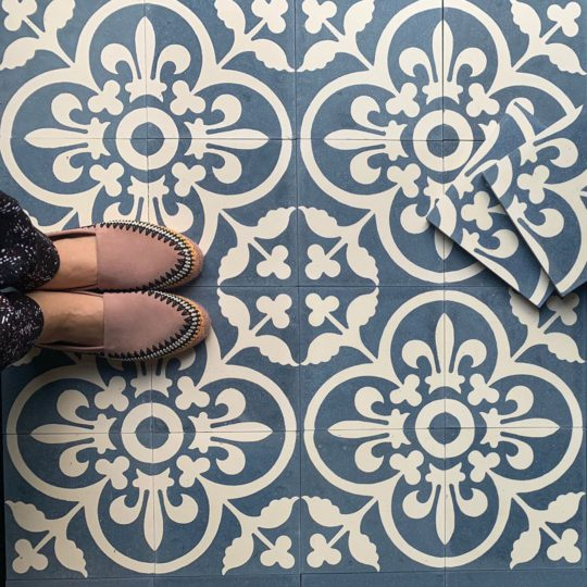 Istanblue Encaustic Cement Tile