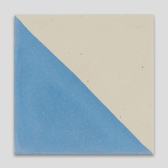 Magic Triangle Blue 602 Encaustic Cement Tile