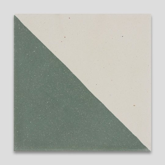 Magic Triangle Green 601 Encaustic Cement Tile